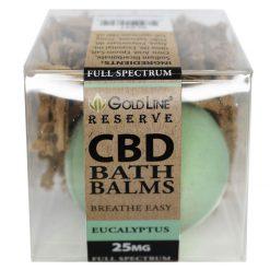 CBD Bath Bombs Eucalyptus Scent