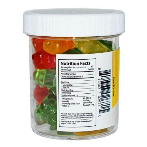 25mg CBD Gummies 4oz jar