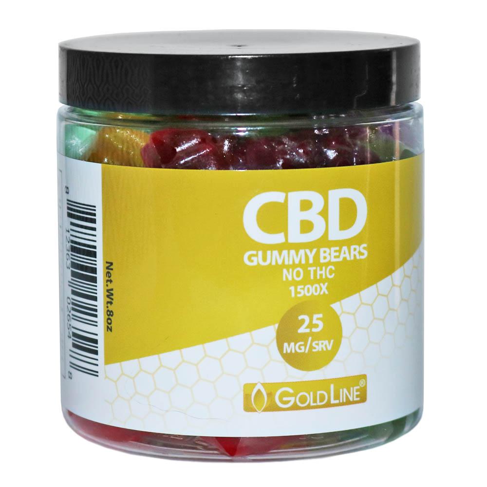 CBD Gummy Bears (8oz)