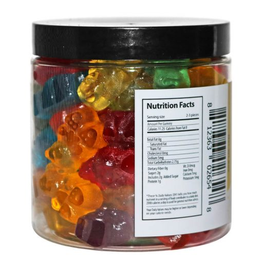8oz / 25mg CBD Gummies