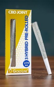prerolled cannabidiol joints