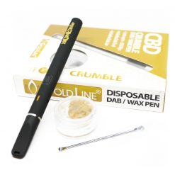 cbd crumble wax and wax pen 250mg