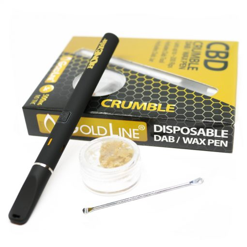 cbd crumble wax and wax pen 500mg