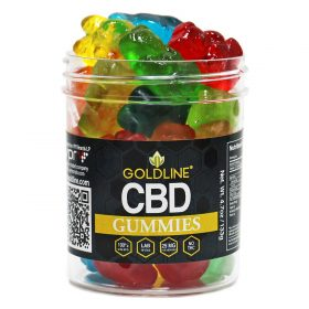 4oz GoldLine CBD Gummies