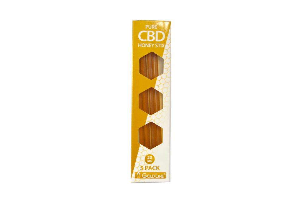 CBD Honey Stix 100mg 5 pack