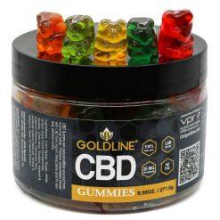CBD Gummies by GoldLine 9.5oz