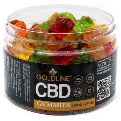 Goldline CBD Gummies 25mg