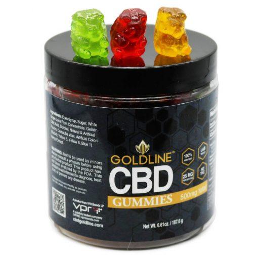 500mg CBD Gummies - Med Jar