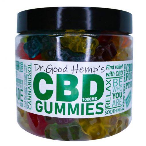 CBD Gummies 1000mg (14oz) by Dr Goodhemp