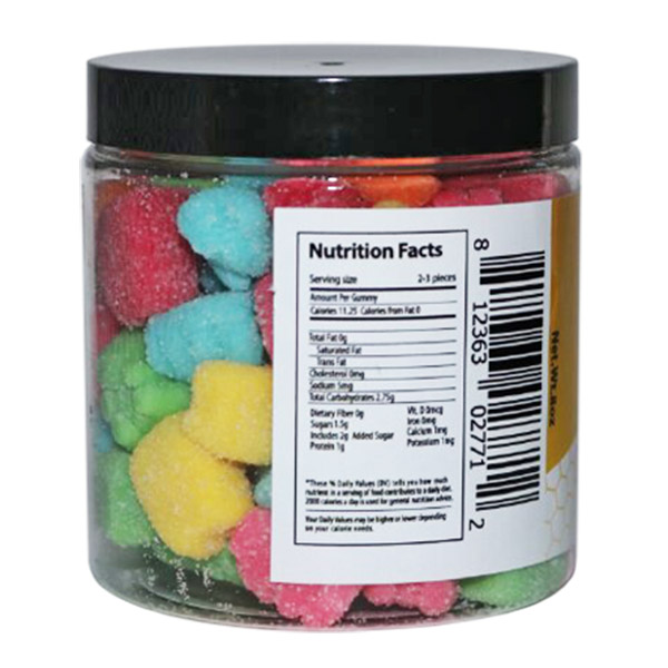 Sour CBD Gummy Bears Edibles (8oz)