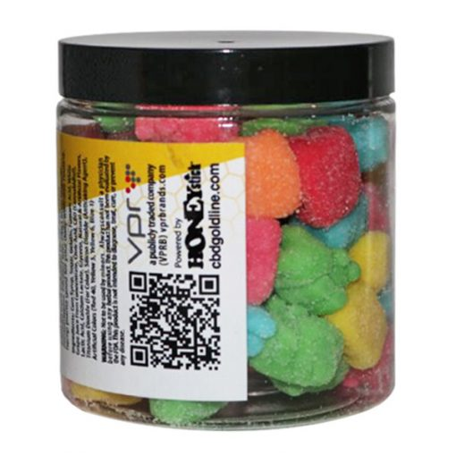 Goldline CBD Infused Sour Gummies Candy