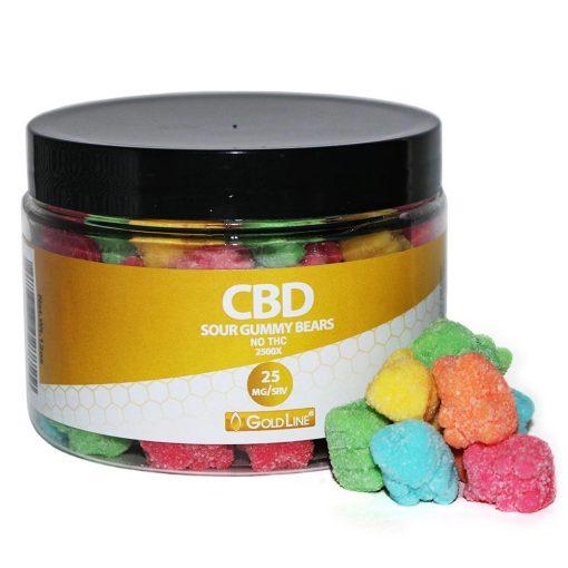 CBD Sour Gummies Large 12oz