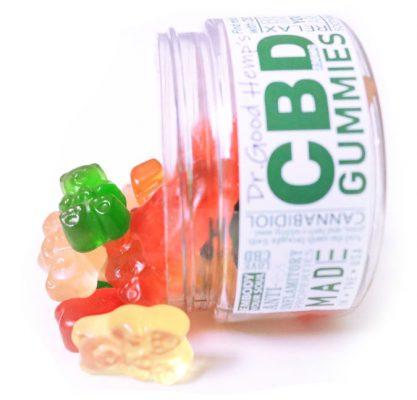CBD Gummies 250mg by Dr Goodhemp