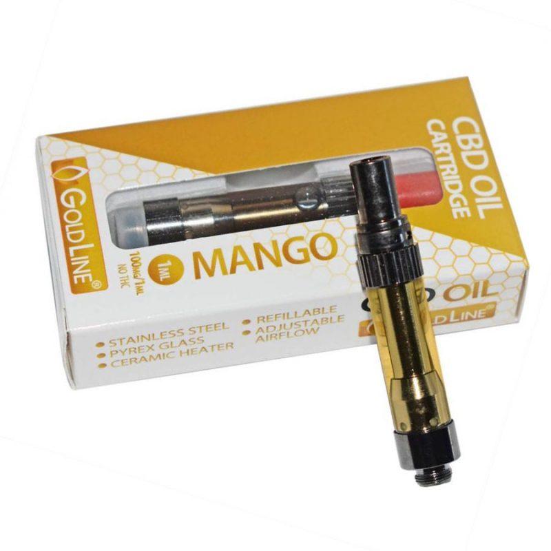 CBD vape oil cartridge