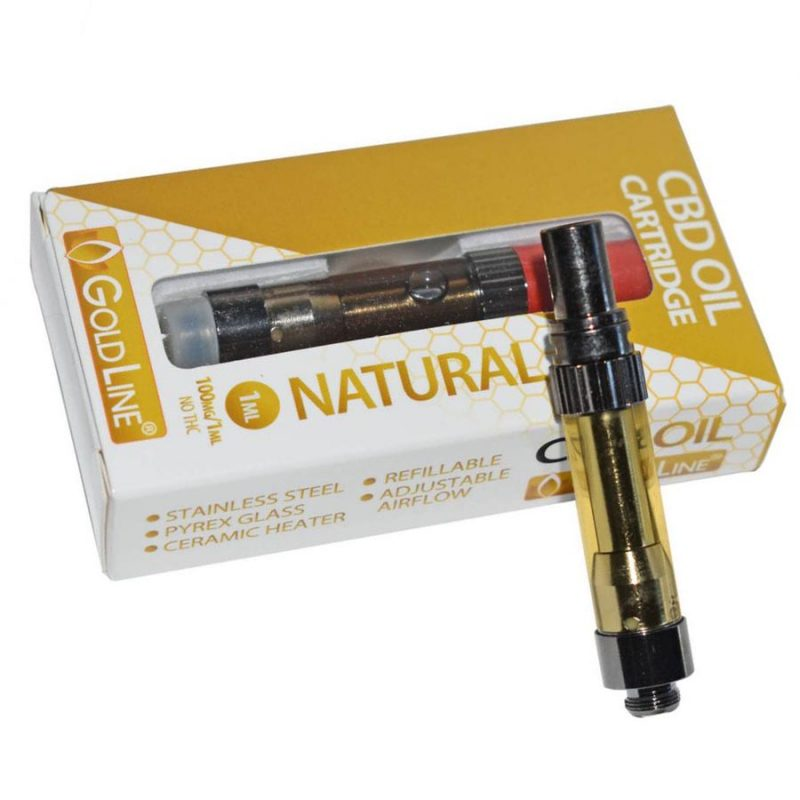 CBD vape cartridge, prefilled carts for any 510 pen vaporizer