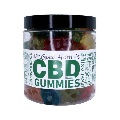 CBD Gummies 500mg by Dr Goodhemp