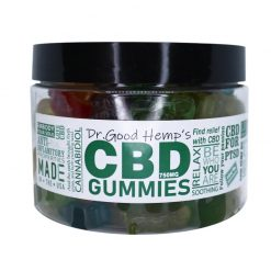CBD Gummies 1000mg (14oz) by Dr Goodhemp gummy bears