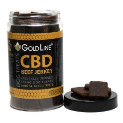 Beef-Jerky CBD Dog Treats