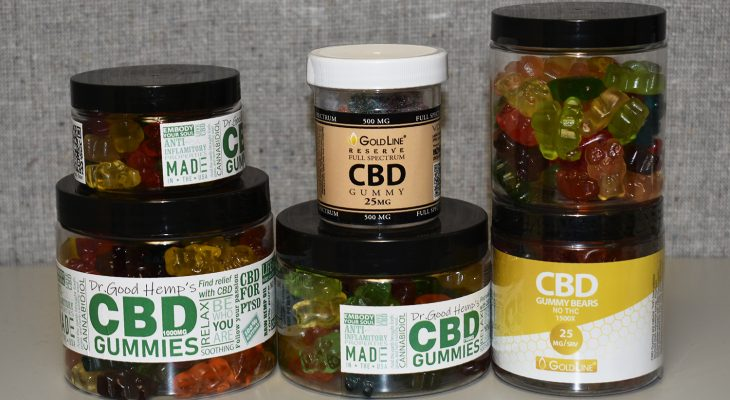 GoldLine CBD Gummies For Sale