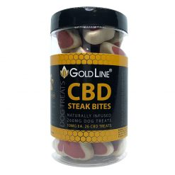 cbd steak flavored bites