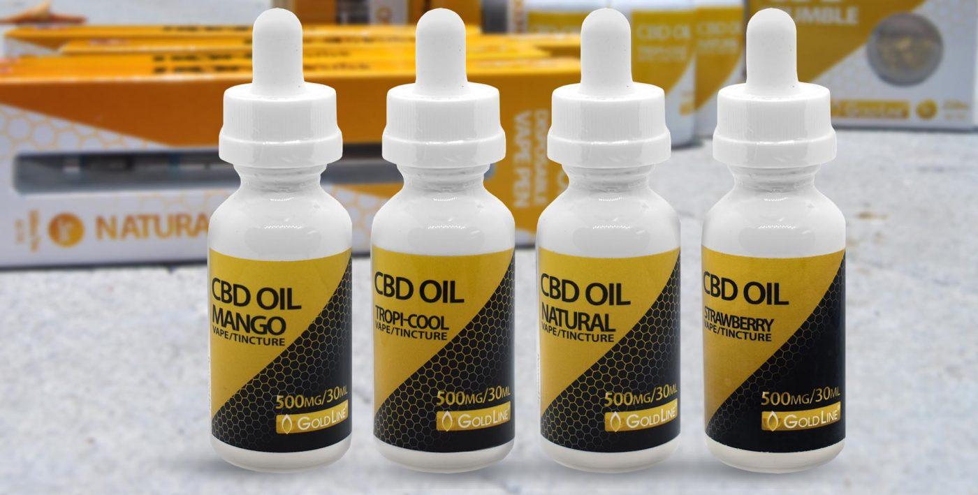 500mg CBD Oil Tincture