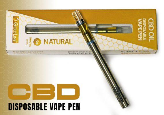 Disposable CBD Vape Pen for sale by CBDGoldLine