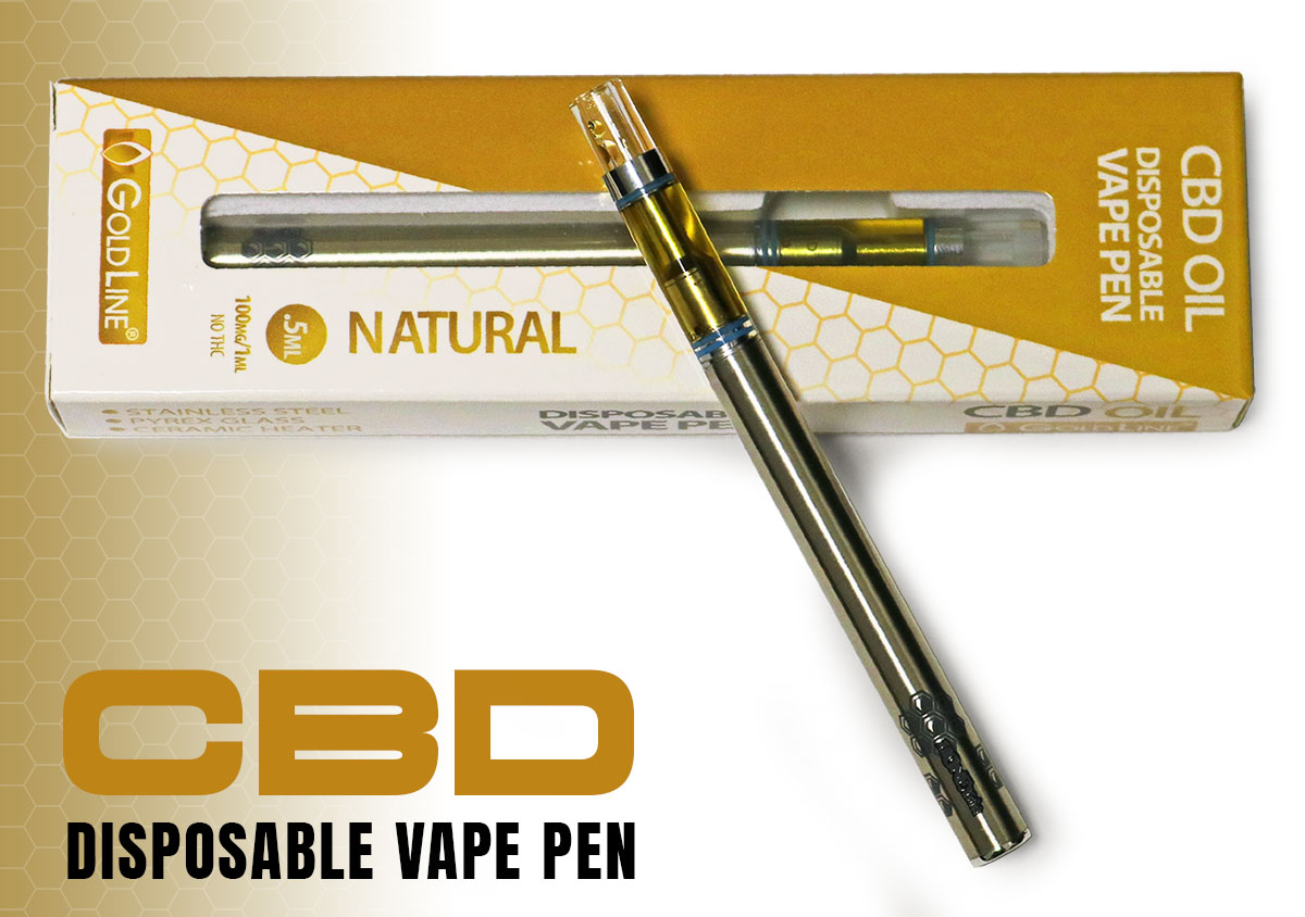 Disposable CBD Vape Pen Archives - CBD Goldline