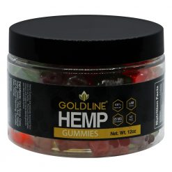 CBD Goldline Hemp Gummies 12oz Jar