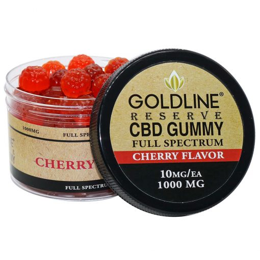 CBD Gummy Chews 100ea Cherry Flavored