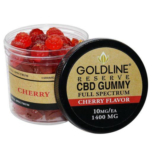Full Spectrum 1400mg CBD Gummies - Cherry Flavor