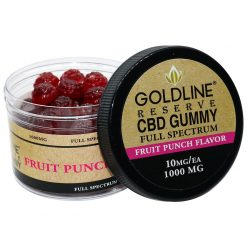 CBD Gummy Chews 100ea Fruit Punch Flavor