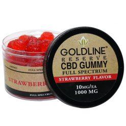 CBD Gummy Chews 100ea Strawberry Flavor