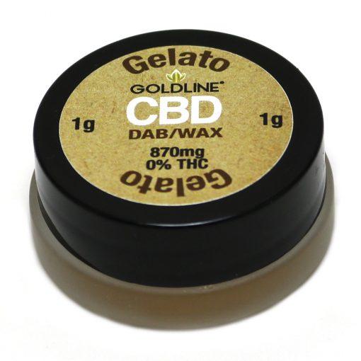 Gelato Flavor 870mg / 1g Goldline Reserve CBD DAB