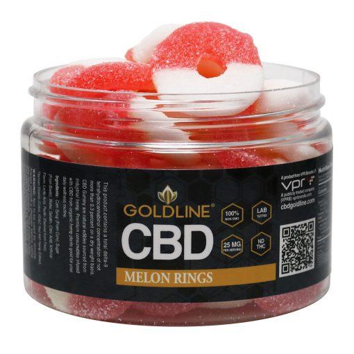 Melon CBD Gummy Rings