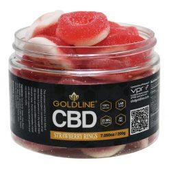 12oz CBD Strawberry Rings Gummies