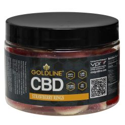 CBD Strawberry Rings Gummies 12oz