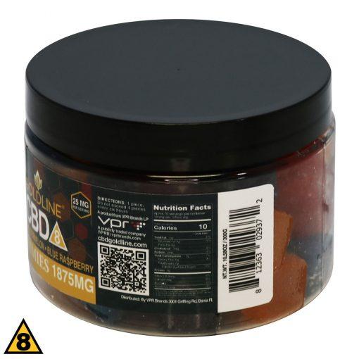 Delta 8 Gummy Squares ingredients